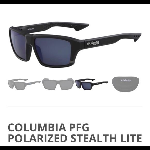 feeffa8163f Columbia PFG Polarized Stealth Sunglasses